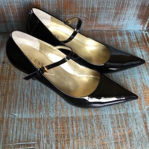 Guess by Marciano Black Patent Heels